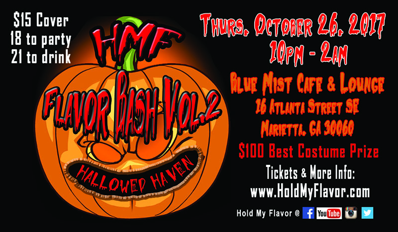 Official Sponsor of Halloween EDM Party: Flavor Bash 2 – Hallowed Haven