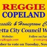 Reggie Copeland for Marietta City Council Ward 5